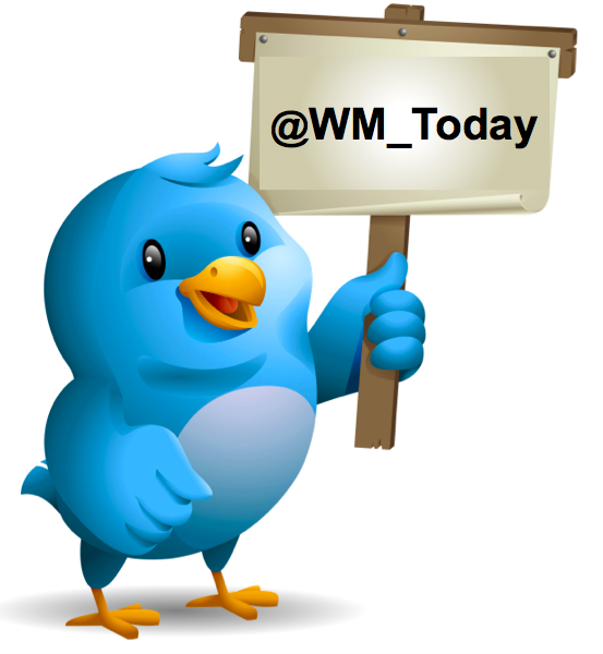 WM Today now has its own Twitter Handle: @WM_Today