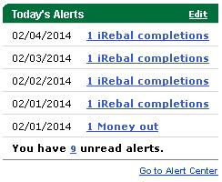 iRebal Alerts
