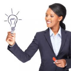 businesswoman-idea